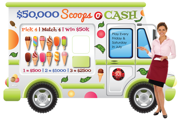 Scoops O Cash Game Board