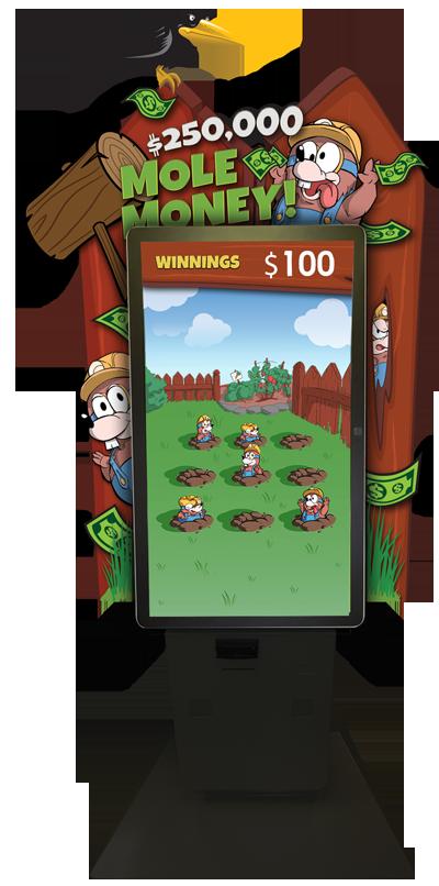 Mole Money PP46 Kiosk