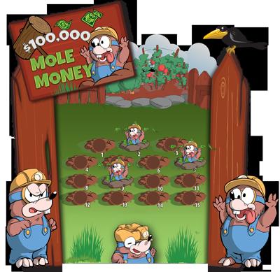 Mole Money Game Board